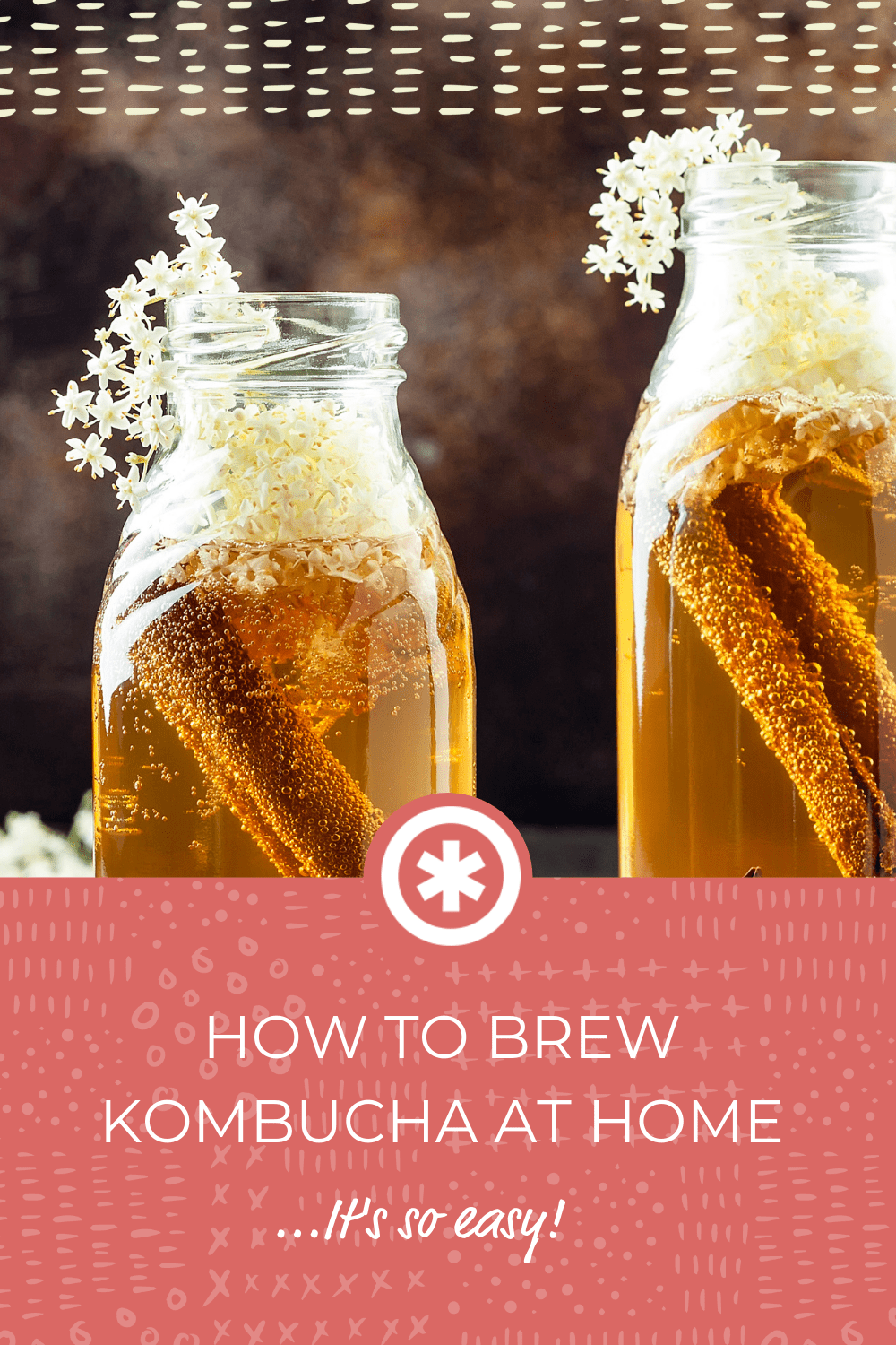 How to Brew Kombucha at Home- (It's SUPER Easy)-Guud