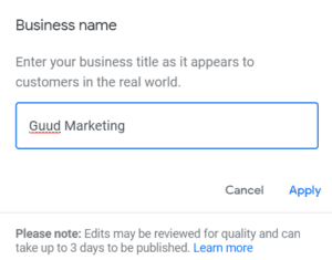 Google My Business Guide 2